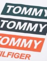 Tommy Hilfiger טישרט ארוכה לבנה מידות 6 חודשים עד 16 שנים