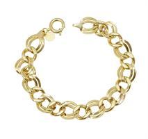 צמיד זהב חוליות לאישה מיוחד ב14 קרט