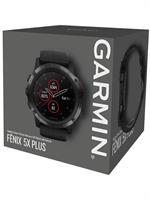 Garmin fenix 5S Plus Sapphire Black with Black Band