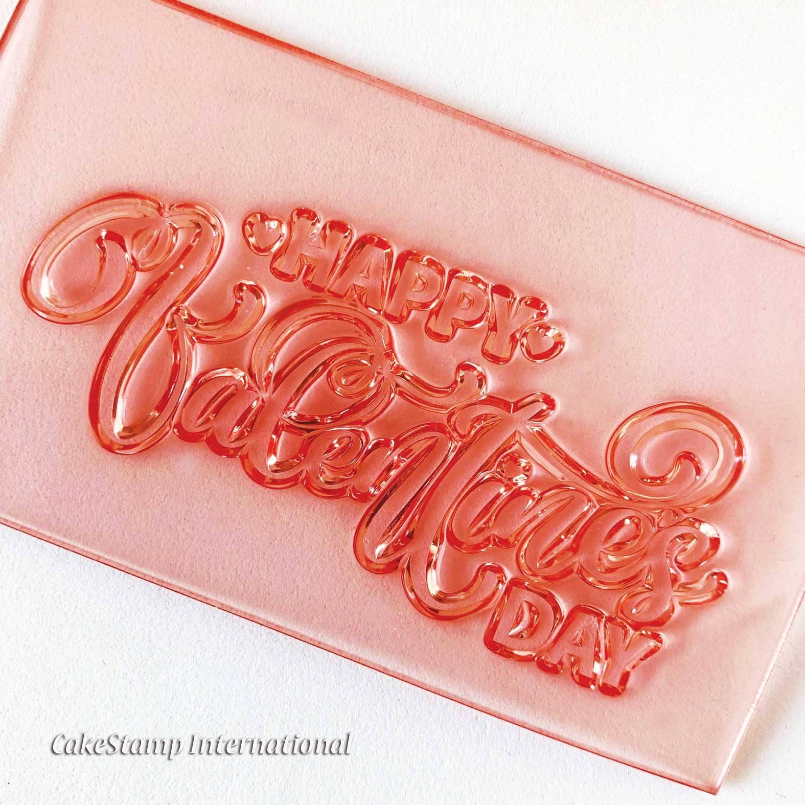 חותמת דגם 2 Happy valentines day