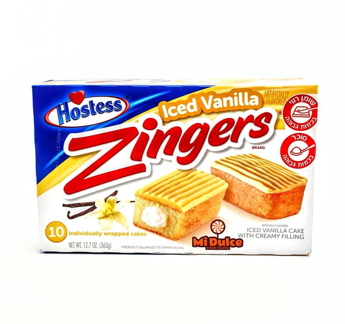Hostess Zingers Vanilla