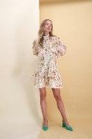 שמלת היילי שילוב חגורת חבל