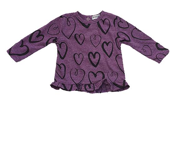 חולצת לבבות