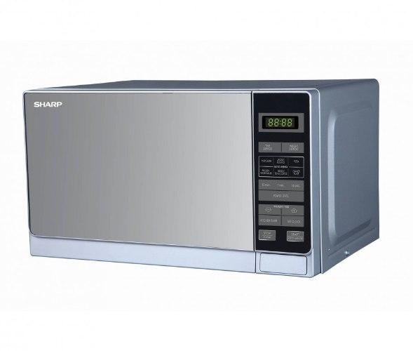 מיקרוגל כולל גריל Sharp R77AT(ST) 34 ליטר שארפ