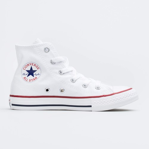 CONVERSE ALL STAR אולסטאר קונברס גבוהות צבע לבן