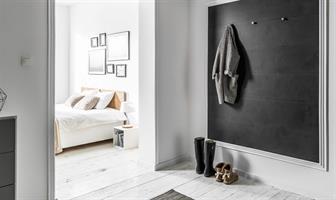 חיפוי קירות פולימרי 100% עמיד במים Kerradeco דגם ''STONE ANTHRACITE''
