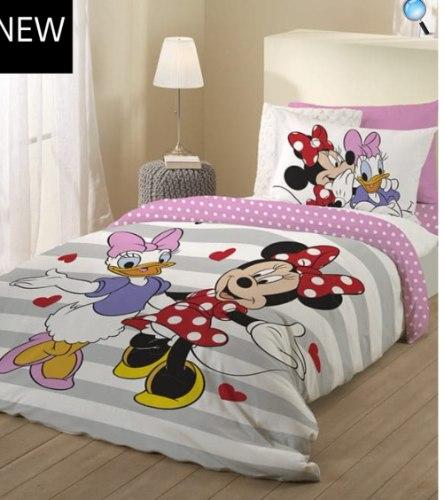 סט מלא יחיד או מיטה וחצי דגם מיקי מאוס פפיון