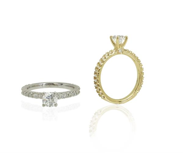 טבעת אירוסין │ טבעות אירוסין │ טבעת יהלומים יוקרתית