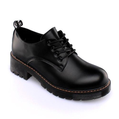 נעל עקב הלונג- שחור