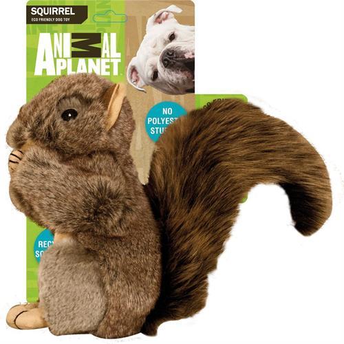 צעצוע לכלב בובת פרווה סנאי מצפצף