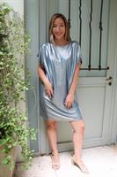 שמלת סלינה כחולה