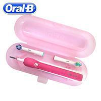 קופסת ייעודית לאחסון מברשת שיניים חשמלית Oral B - מתאים לנסיעות ולשטח