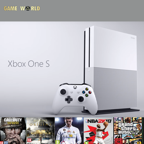 XBOX ONE S 1 TERA  BUNDLE