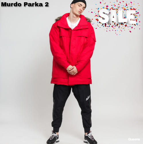 מעיל The North Face M MC Murdo Parka 2 red