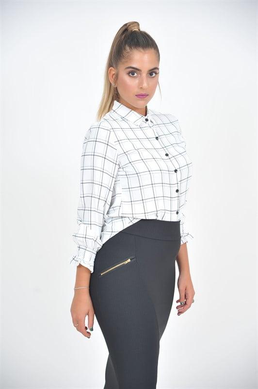 חצאית גבוהה מחטבת