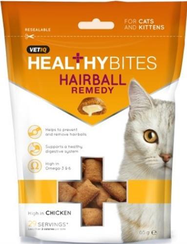 חטיף לחתולים למניעת היווצרות כדורי פרווה 65 גרם