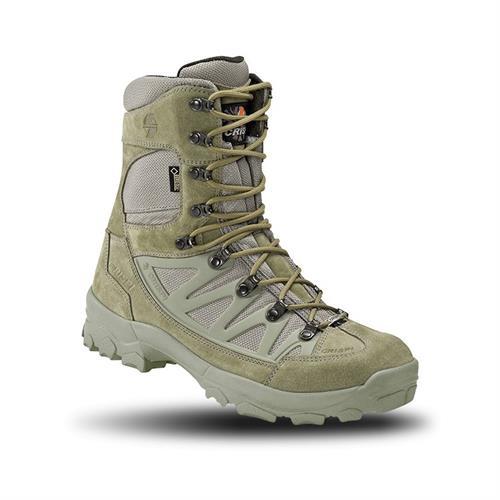 נעליים טקטיות גבוהות  נעלי  הרים קריספי - CRISPI APACHE PLUS GTX Foliage Green