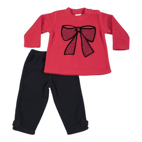 חליפת פליז אדום פפיון
