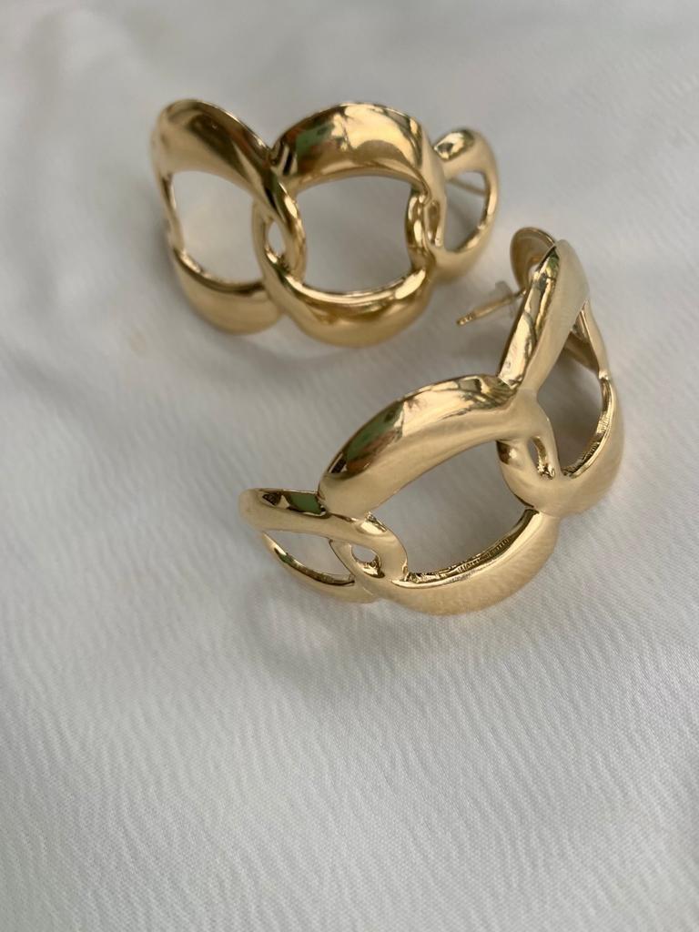 עגיל טומי זהב