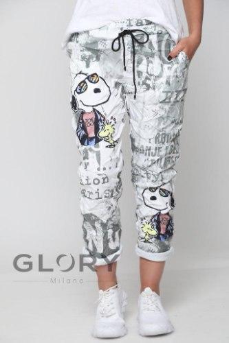 מכנס גומי מודפס GLORY