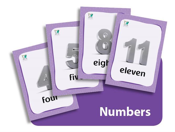 קטגוריה – מספרים (כרטיסי הברקה) |Numbers Flashcards