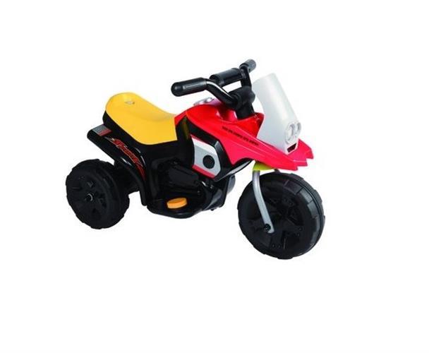 אופנוע ג'וק 6V שחור אדום