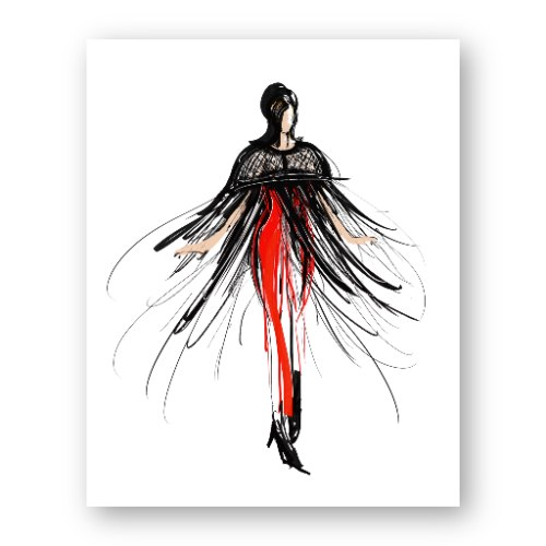 איור אופנה #28