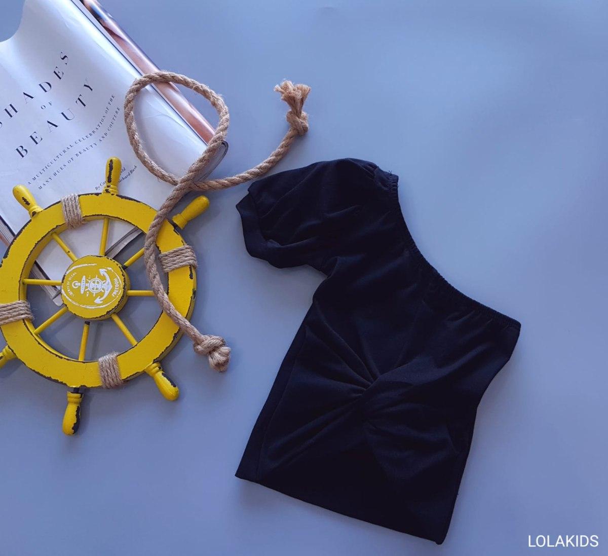 חולצת כתף אחת דגם 9562/2