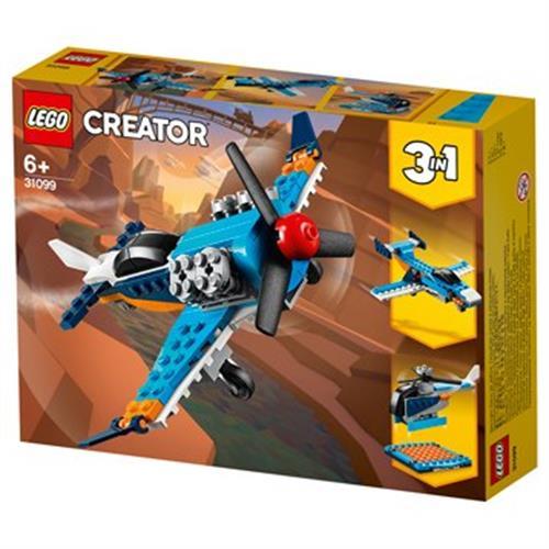 לגו CREATOR 3 ב- 1 מטוס סילון 31099