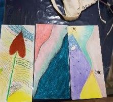 סדנה זוגית לציור אינטואיטיבי בזום