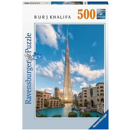 בורג' חליפה המגדל הגבוה בדובאי פאזל 500 חלקים