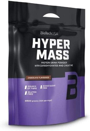 אבקת חלבון HYPER MASS 6800G 104 מנות הגשה יחס 1:2