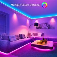 רצועת תאורה 5m  LED כולל שלט רחוק