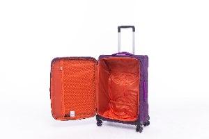 סט 3 מזוודות קלות במיוחד וסופר איכותיות TESLA - צבע סגול