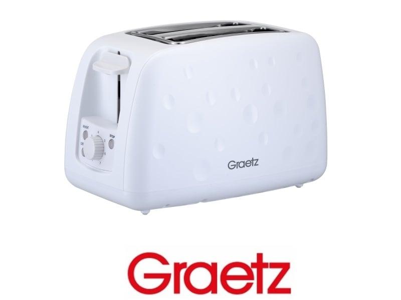 Graetz מצנם אוטומטי לבן דגם GR2060