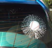מדבקה 3D לרכב