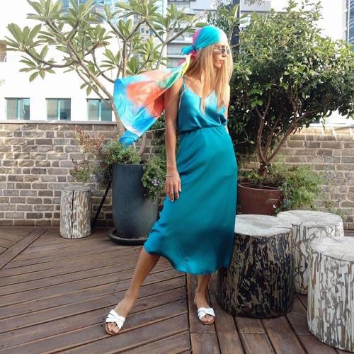 חצאית JENNY - טורקיז