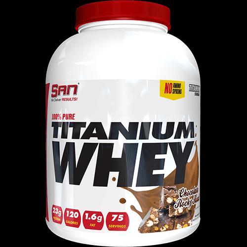 -- חלבון Titanium - שוקולד פצפוצים -- 75 מנות