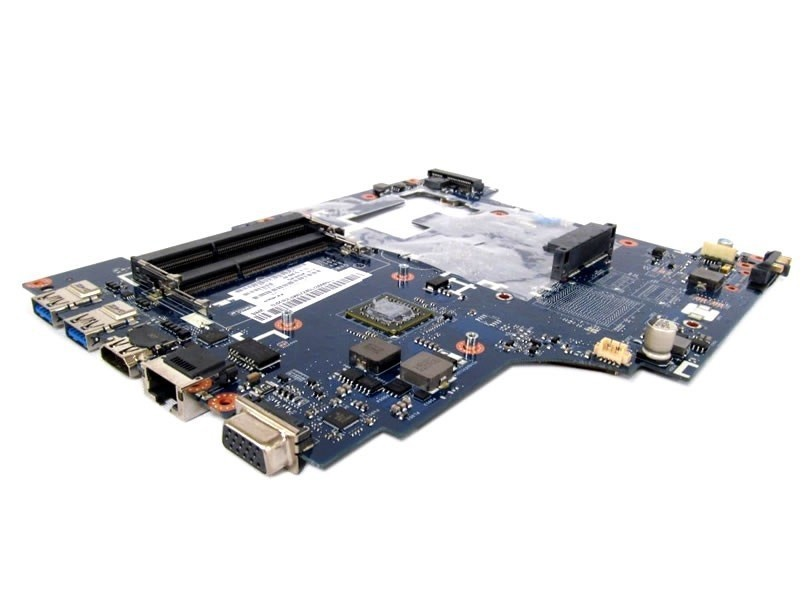 לוח למחשב נייד לנובו LENOVO IDEAPAD G585 AMD E1-1200 1.4GHZ LAPTOP MOTHERBOARD 90000582 QAWGE LA-8681