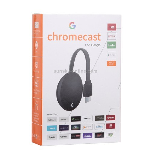 סטרימר Google Chromecast Ultra