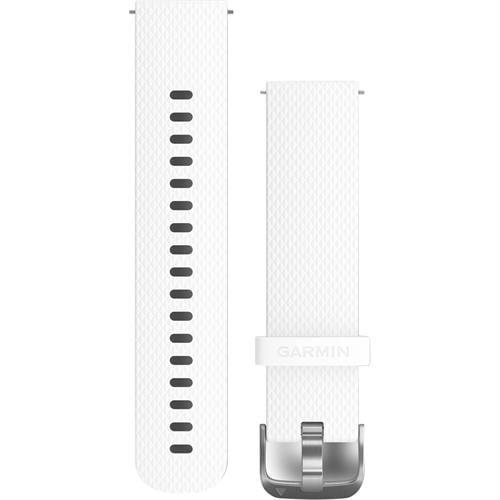 רצועה מקורית לשעון גרמין Garmin Quick Release Bands 20 mm לבן