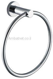 טבעת למגבת דגם A ניקל מוברש