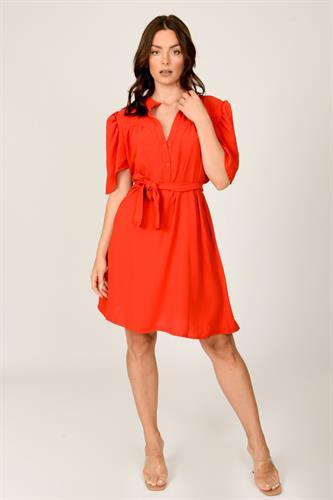 שמלת לילוש אדום /שחור