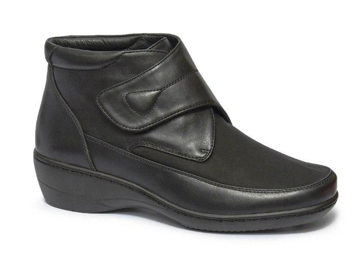 נעלי נוחות גבוהות לנשים עם לייקרה וסקוטצ' דגם - 8380-59L