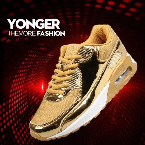 חדש!  נעלי ספורט/סניקרס אופנתיות  עם  כריות אוויר דגמי 2020 לשימוש יומיומי יוניסקס