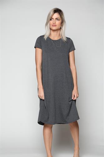 שמלה נשים שרוול קצר