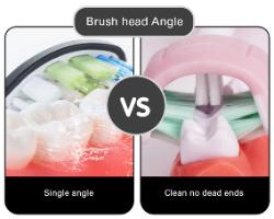 מברשת שיניים חשמלית 3D למבוגרים – B.U.Adult