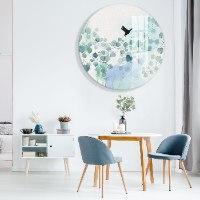 תמונת זכוכית לקיר בסלון