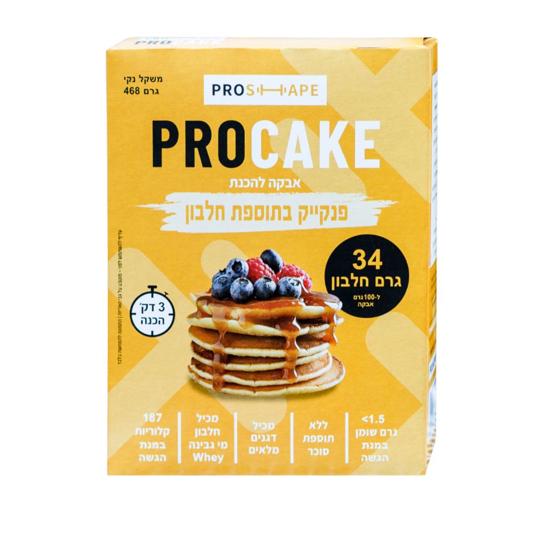 PROCAKE-פנקייק 34 גרם חלבון