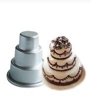 עוגת קומות - סט 3 יחידות